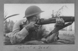 Training with the Springfield .03 before WWII
